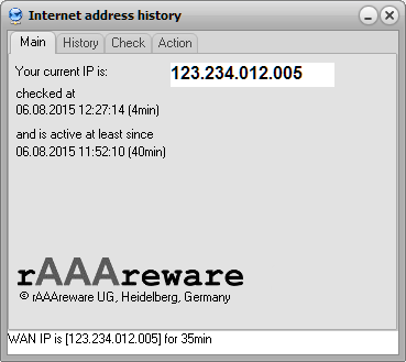 IP address history (English)